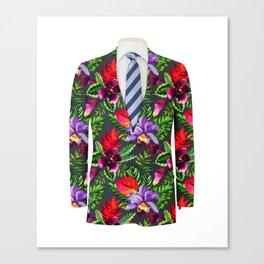 Business Tropical Canvas Print