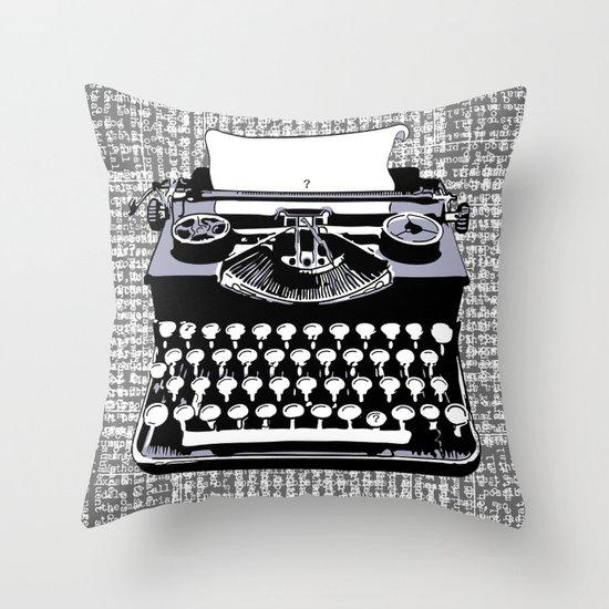 tyPOLOgy Throw Pillow