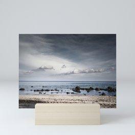 earth - water - sky Mini Art Print