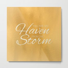 Haven from the Storm Metal Print