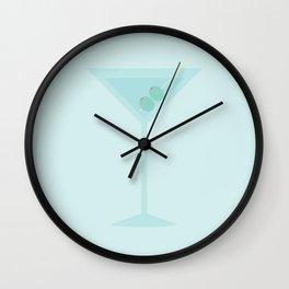 #47 Martini Wall Clock