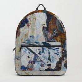 Edvard Munch - Galloping Horse Backpack