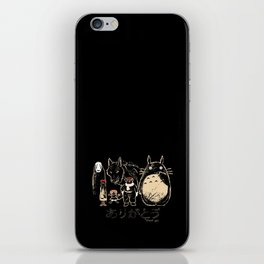 Tribute for Miyazaki iPhone Skin