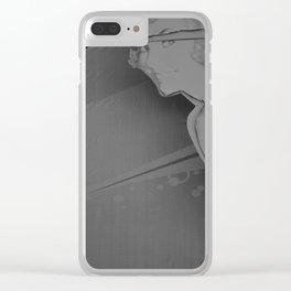 They Shut it Down - Europa Park in Corralejo, 2015 B&W Edition Clear iPhone Case