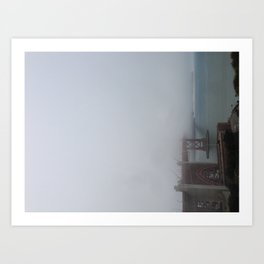 Karl the Fog Art Print