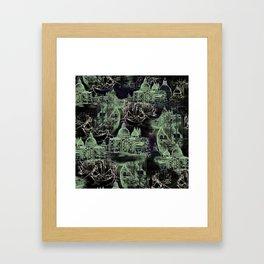 Venetian Toile Framed Art Print