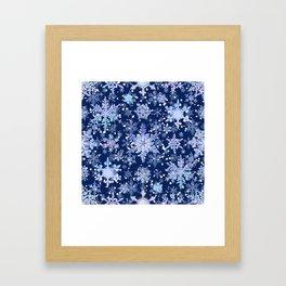 Snowflakes #3 Framed Art Print