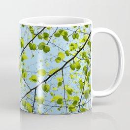 Blue Sky, New Leaves Coffee Mug