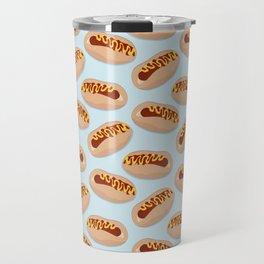 Hot dog time Travel Mug