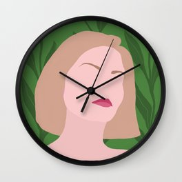 Tropical Robyn Wall Clock
