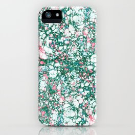 Messy paint iPhone Case