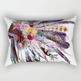Indian Headdress Rectangular Pillow