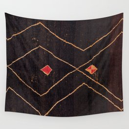 Feiija  Antique South Morocco North African Pile Rug Wall Tapestry
