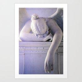 Weeping Angel 3 Art Print
