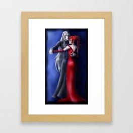 Danse Macabre Framed Art Print