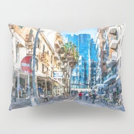 Malta St. Julians #malta #city Pillow Sham