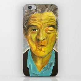 Yellow Robert De Niro iPhone Skin