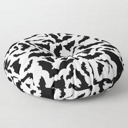 It's Frickin' BATS! Floor Pillow