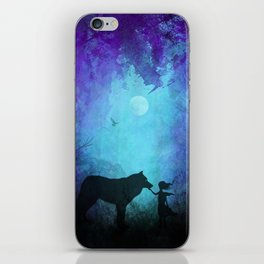 Wolf Whisperer iPhone Skin