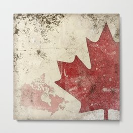 canadiana Metal Print