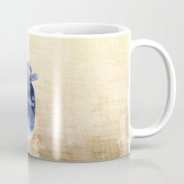The earth is our heart - EARTH DAY '16 - all artist profits to be donated Coffee Mug