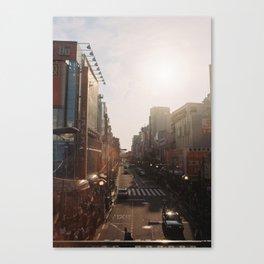 Golden Tokyo Canvas Print