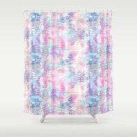 amelie Shower Curtains featuring Amelie {Pattern 1A} by Schatzi Brown