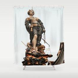Art Piece by Joel & Jasmin Førestbird Shower Curtain