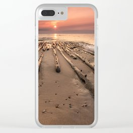 Shipwreck on Lake Superiors Graveyard Coast Clear iPhone Case