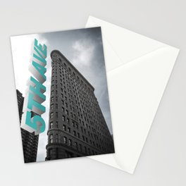 5th Avenue _ Flatiron (Fuller) Building New York City Stationery Cards