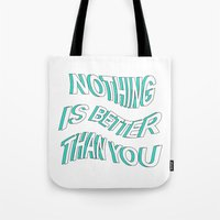 5 seconds of summer Tote Bags featuring LOST BOY // 5 SECONDS OF SUMMER by grlpower