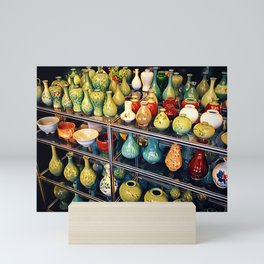 Traditional Korean Ceramics, Seoul, South Korea Mini Art Print