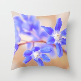 Glory of the Snow Throw Pillow
