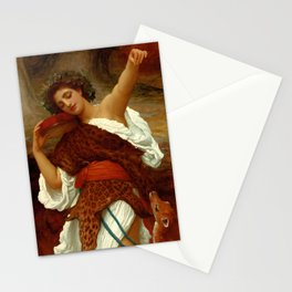 """Frederic Leighton """"Bacchante"""" Stationery Cards"""