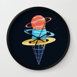 Space-Time Cone-Tinuum (Dark) Wall Clock
