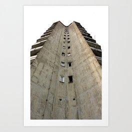 Belgrade / Concrete Art Print