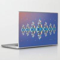 diamond Laptop & iPad Skins featuring Diamond  by sandesign