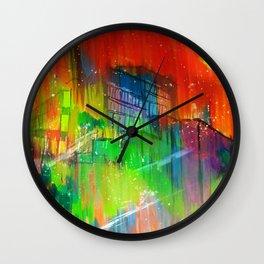 Dorms and Skies  Wall Clock
