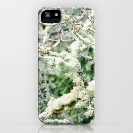 Moss it up iPhone Case