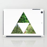 weed iPad Cases featuring Tri-Weed by Weedorz