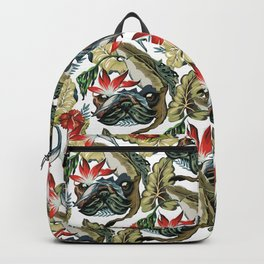 Tropical Pug Backpack