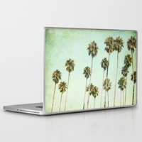 palm trees Laptop & iPad Skins featuring palm trees by Mareike Böhmer