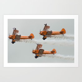 Dancing on Planes Art Print
