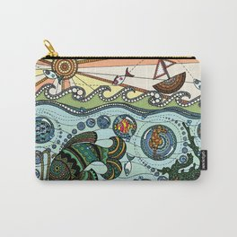 'What Lies Beneath' Carry-All Pouch
