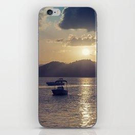 Sunset baby iPhone Skin
