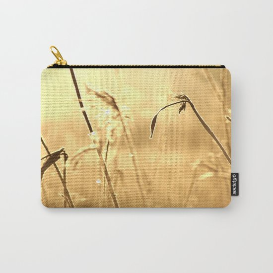 Foggy Morning With Golden Tones  Carry-All Pouch