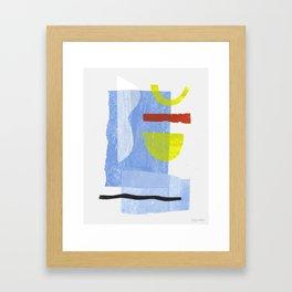 Aerogramme I Framed Art Print