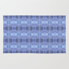 winter winds pattern Rug