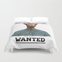 Wanted Camel Duvet Cover