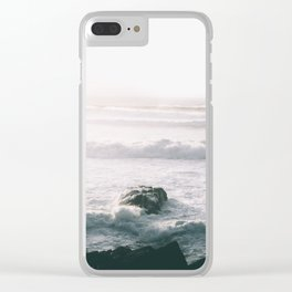 Waves VI Clear iPhone Case